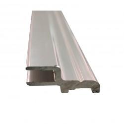 Listwa aluminiowa do uszczelki magnetycznej kabinowej